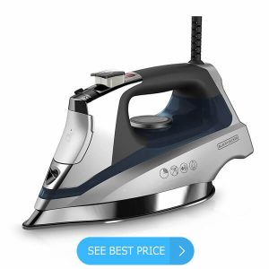 BLACK+DECKER Allure Professional Steam Iron, D3030 review