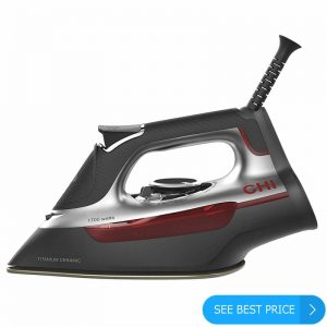 It is no 3 in list of best steam irons for dress shirts 2020