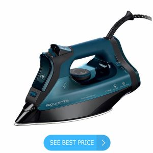 Steam Iron 1600 W Stainless Professional Lightweight Auto Shutoff Self Cleaning