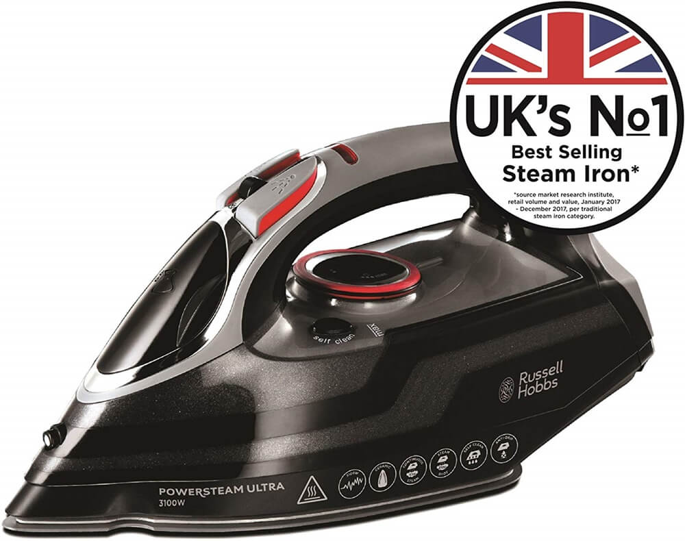 Best Steam Iron in UK