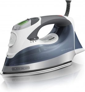 BLACK & DECKER Digital Advantage Professional Steam Iron, D2530 Review