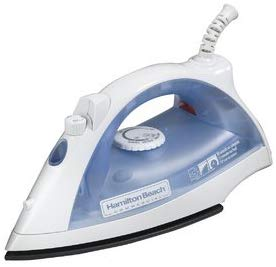 Hamilton Beach Commercial Lightweight Steam Iron with 3-Way Automatic Shutoff and Nonstick Soleplate (HIR200R)