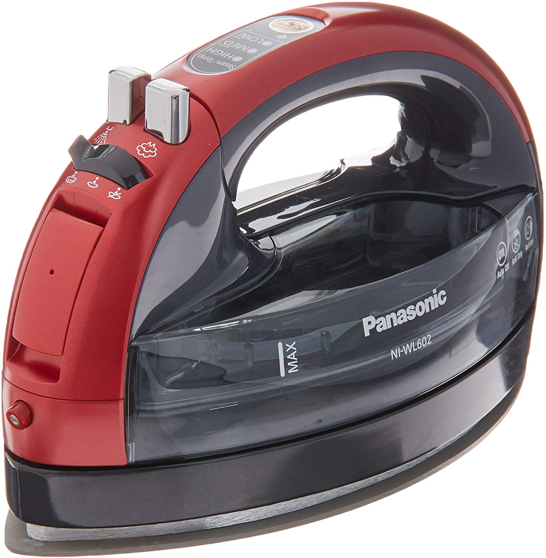 Panasonic 360 Ceramic Cordless Freestyle Metallic Iron